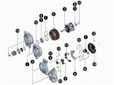 letrika alternator wiring diagram caterpillar alternator