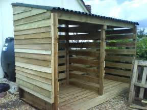 plans for building a firewood shed woodworking