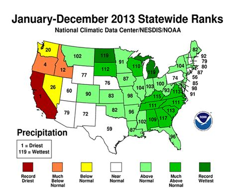 california temperature map january national climate report annual 2013 state of the
