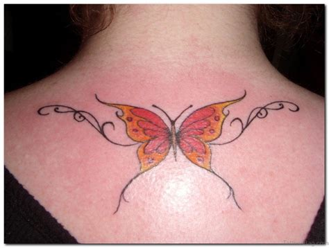 yellow butterfly tattoo 74 beautiful butterfly tattoos
