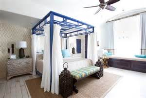 Blue Canopy Bedrooms Canopy Beds Are Back Creating A Bedroom Feel More Relaxing