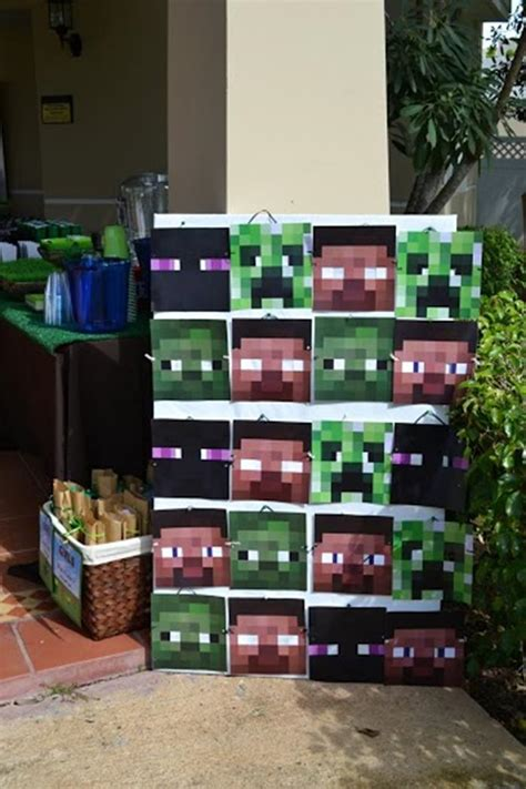 printable minecraft birthday party decorations kara s party ideas minecraft birthday party free
