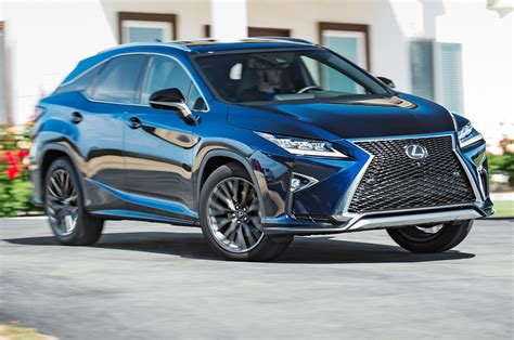 lexus rx 350 f sport 2016 2016 lexus rx 350 f sport first test review best seat in