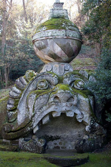 giardini di bomarzo bomarzo e il parco dei mostri il sacro bosco vicino