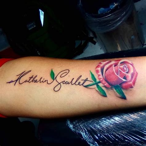 tattoo name with rose name tattoos kids name tattoo ideas last name ink