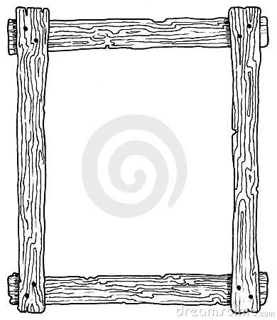 Frame wood clipart - Clipground Free Black And White Clip Art Letters