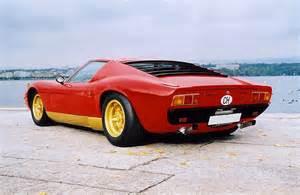 Lamborghini Vintage Cars Vintage Supercar Gallery 1965 Lamborghini Miura