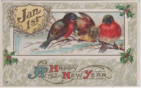 new year postcard wonderful wonderblog vintage new year postcards