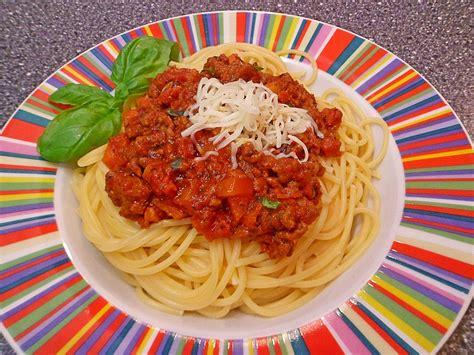 Spghetti Bolognese spaghetti bolognese jessy70 chefkoch de