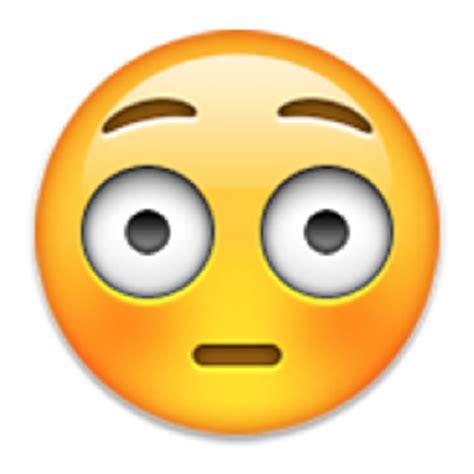 Flushed Face Emoji (U 1F633/U E40D)
