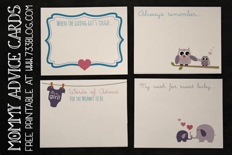free baby advice cards template entertaining pinterest baby shower games inspiration made simple