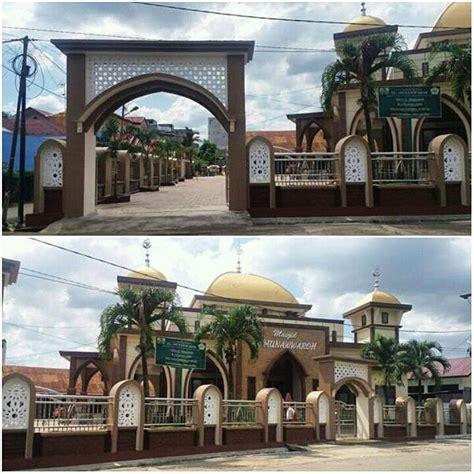 desain pagar masjid pagar masjid al munawarah