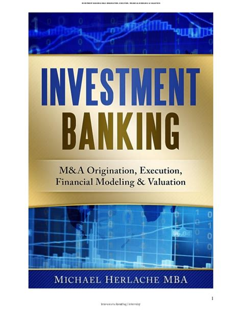 Investment Firm Mba by Investment Banking Introduction Financial Modeling