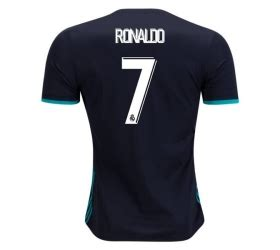 Kaos Real Madrid 2017 2018 jersey real madrid away 2017 2018 ronaldo jersey bola