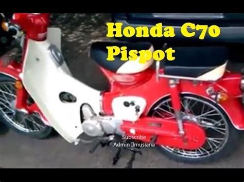Jok Honda C70 Pispot masih tangguh motor honda c70 pispot 1971