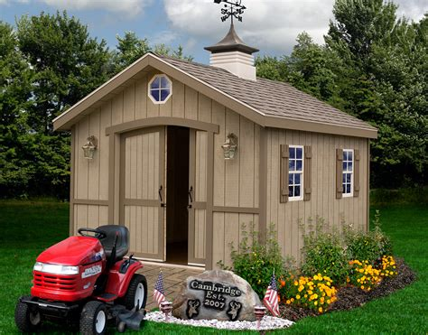 cambridge shed kit wood diy shed kit   barns