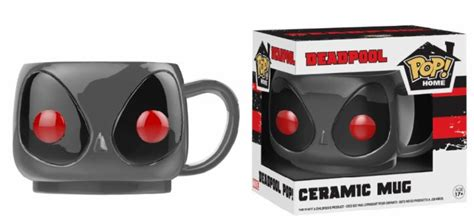 Funko Pop Home Deadpool Mug marvel funko home mug grey deadpool