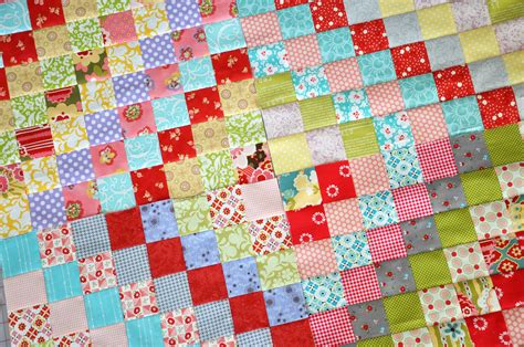 Trip Around The World Quilt by Clover Violet A New Scrappy Trip Around The World Quilt