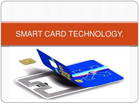 smarter technologies smart card technology