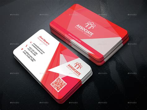 Classic Business Cards Templates by Classic Corporate Business Card Template 8 By Microstocker
