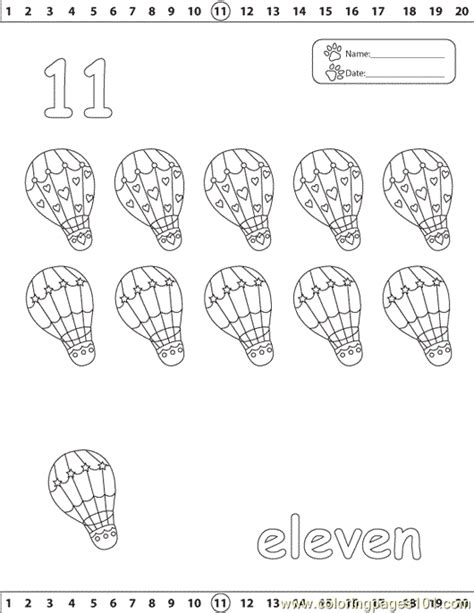 coloring pages of the number 11 number 11 coloring pages printable coloring pages