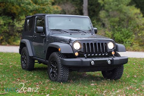 Jeep Wrangler 2016 Review 2016 Jeep Wrangler Willys Wheeler Review Carsquare