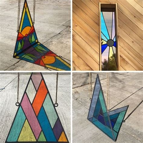 Handmade Stained Glass - best 25 modern stained glass ideas on