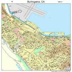 burlingame california map 0609066
