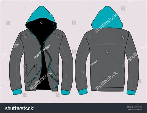 desain vektor jaket vector jacket design template stock vector 143988181