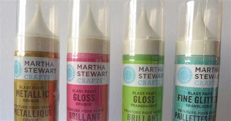 paper martha stewart glass paints and silkcreens