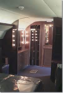 elvis bedroom photos inside elvis presley lisa marie convair 880 jet