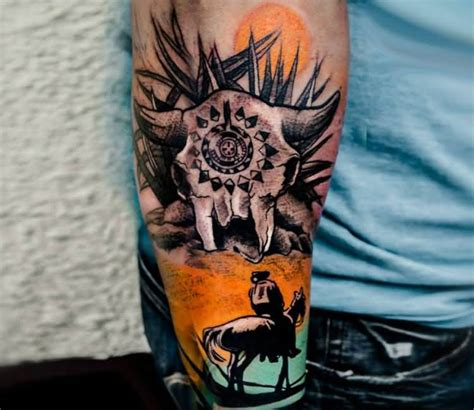 western cowboy tattoos designs 22 design and pictures for western tattoos golfian