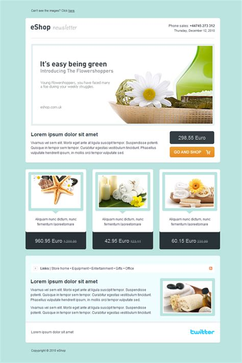 Newsletter Templates Code Validation Css And Xhtml Script Type Email Newsletter Templates Email Newsletter Templates
