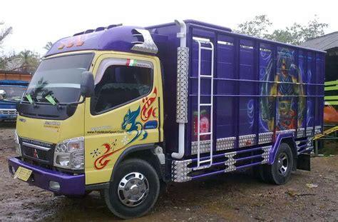 inilah foto modifikasi mobil truk mitsubishi canter