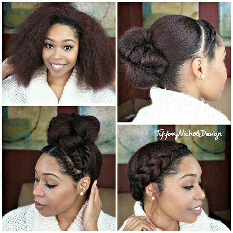 Hair Peice For Making Buns To Grow Out Hair | 1137 best images about blackhairomg com on pinterest