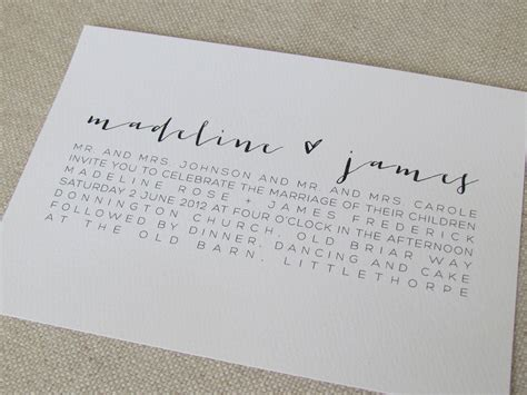 modern calligraphy wedding invitations 163 3 60 via etsy design envy modern
