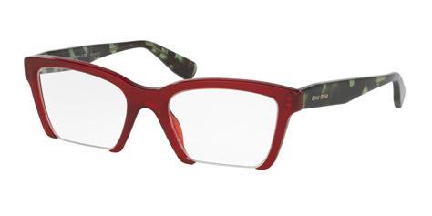 miu miu mu 04nv rasoir eyeglasses free shipping