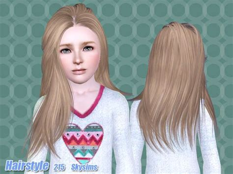 skysims hair child 204 sims 3 pinterest sims skysims hair child 215 coupe cheveux femme sims3