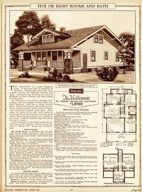 Home Decor Mail Order Catalogs by Sears Kit House Plans
