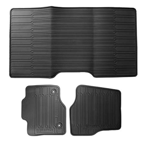 Ford F150 Supercrew Floor Mats by Ford Hl3z 1613300 Aa F150 Floor Mat W Logo Set Supercrew