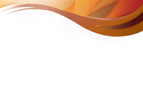 Orange Waves Powerpoint Templates Abstract Orange Free Ppt Backgrounds And Templates Orange Powerpoint Template