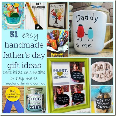 Handmade Fathers Day Gift Ideas - 51 easy handmade gifts for s day that the can
