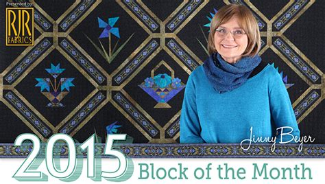 Block Of The Month Celebrate The New Year With The New Block Of The Month