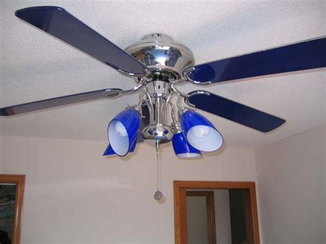 hton bay cobalt blue ceiling fan modern fan for minimalis house amazing blue ceiling fan