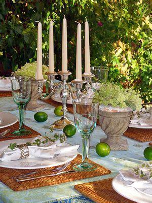 mediterrane tischdeko deko ideen sommerliche tischdeko mediterrane tischdeko