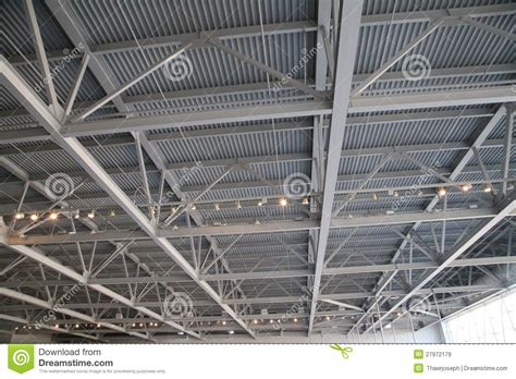 Structural Ceiling by Steel Ceiling Structure Royalty Free Stock Images Image