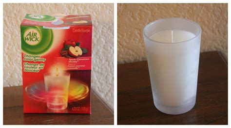 candele air wick air wick 174 color changing candle giveaway