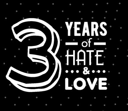 3 years in years 3 years of and on behance