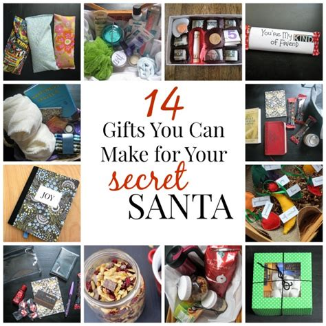 14 gifts you can make for your secret santa gift