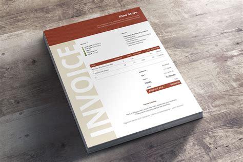Moderne Rechnungsvorlage facture commerciale niana
